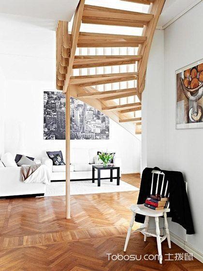 在家也能亲近自然 15款原木镂空简约楼梯 _装修图片 - 装修效果图
