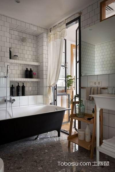 2019工业浴室设计图片 2019工业浴缸装修效果图大全