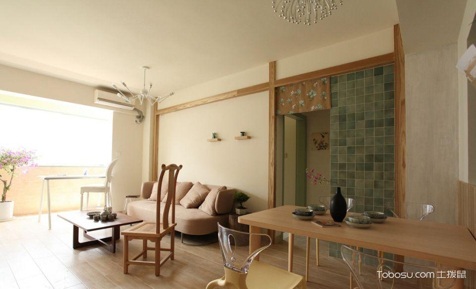 2021现代中式90平米装饰设计 2021现代中式一居室装饰设计