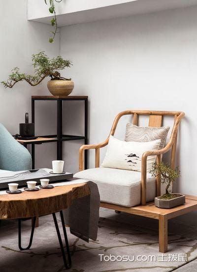 2019新中式阳光房设计图片 2019新中式茶几效果图