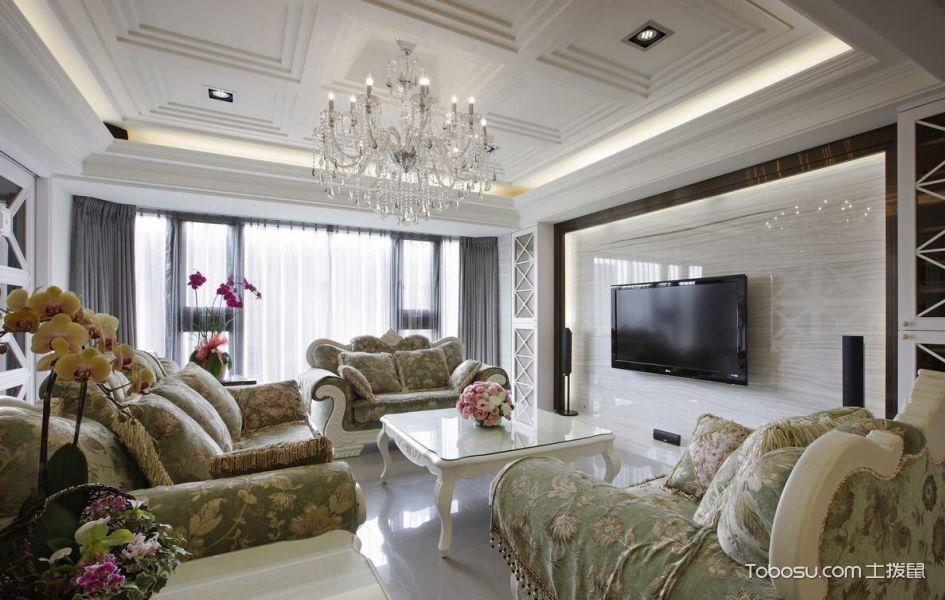 2020新古典150平米效果图 2020新古典二居室装修设计