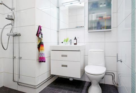 美观大方卫生间设计图欣赏