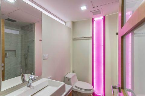 优雅白色卫生间设计方案