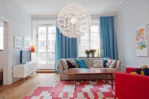 宜家风格二居室103平米家装设计图