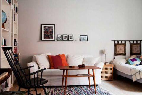 2019宜家70平米设计图片 2019宜家一居室装饰设计