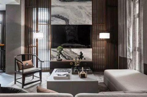 125平米别墅新中式风格实景图