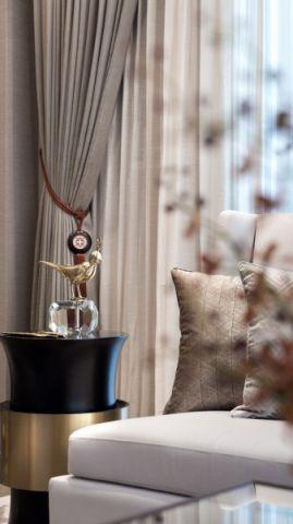 眩亮客厅窗帘家装设计