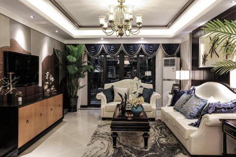 简欧风格二居室124平米室内装饰