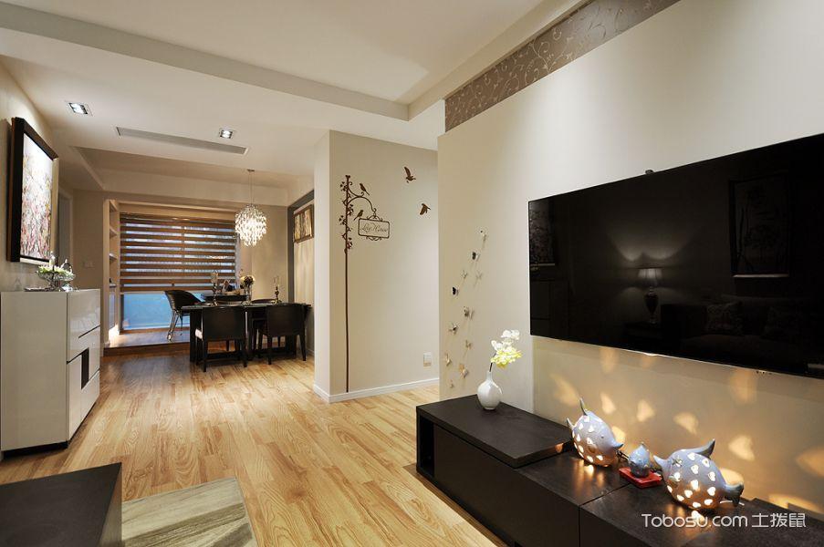 新古典风格三居室精致装潢_装修图片