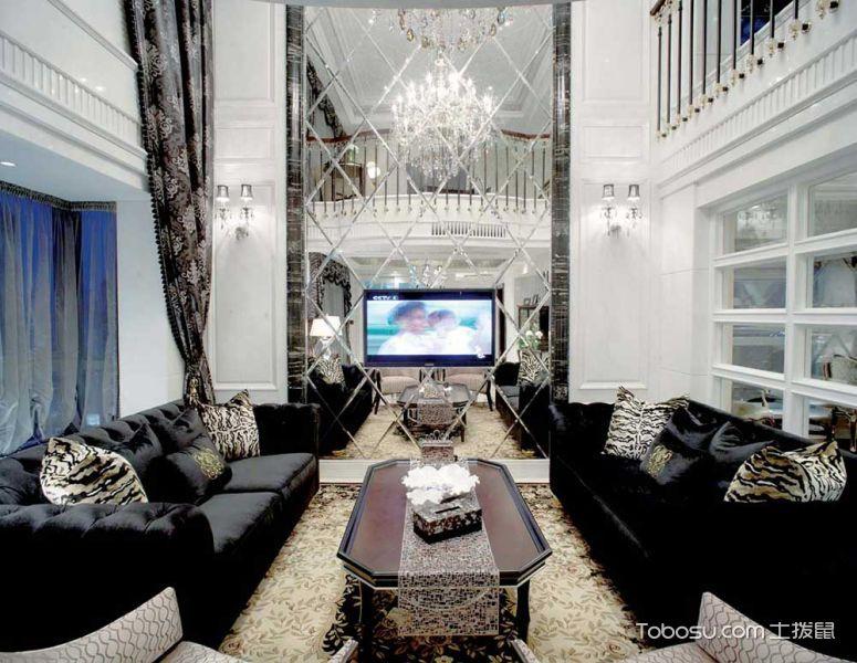 2020新古典240平米装修图片 2020新古典别墅装饰设计