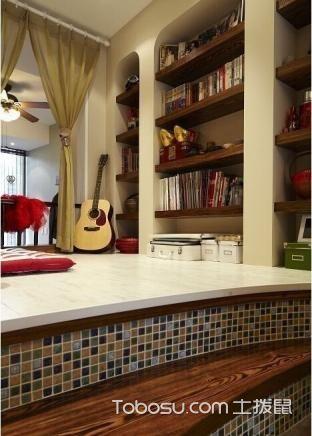 新古典风格混搭休闲二居室装修图片大全_装修图片