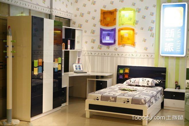 小主人的整洁卧室 18款简约儿童房欣赏 _装修图片