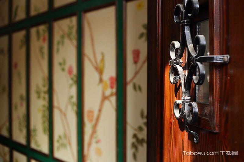 2020古典玄关图片 2020古典背景墙装饰设计