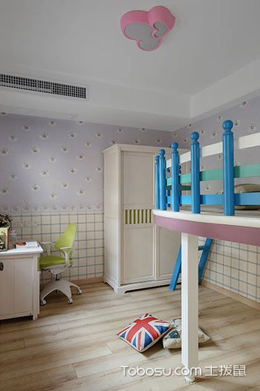 2021古典儿童房装饰设计 2021古典吊顶装修效果图片