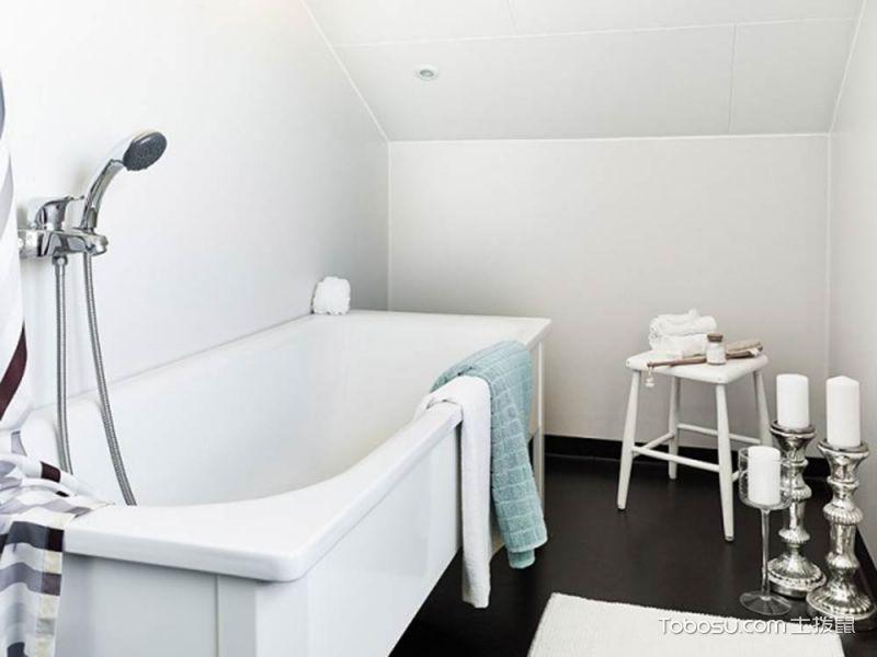 2019简约浴室设计图片 2019简约浴缸装修效果图大全