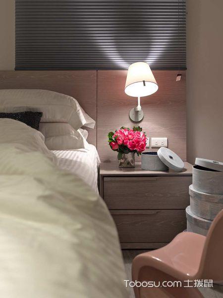 2019简约卧室装修设计图片 2019简约床头柜装修设计图片