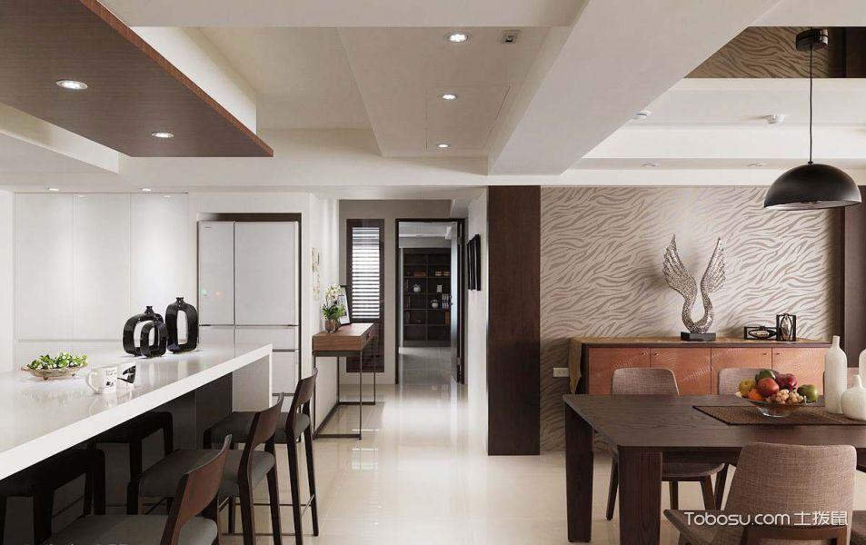 现代休闲四居室设计室内装修效果图_装修图片