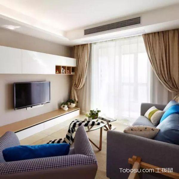套房105平米现代简约风格构造图