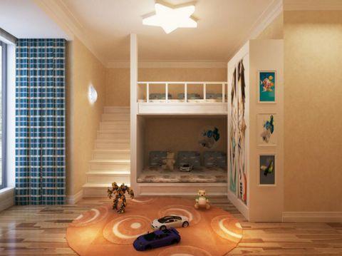2019简约儿童房装饰设计 2019简约楼梯设计图片
