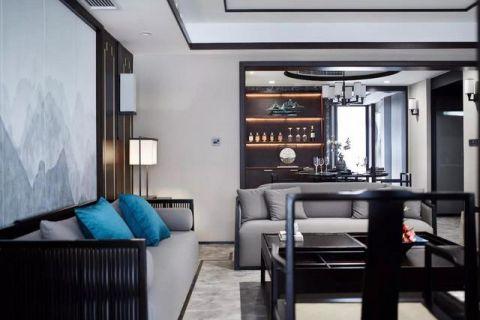 2019现代中式客厅装修设计 2019现代中式沙发装修设计