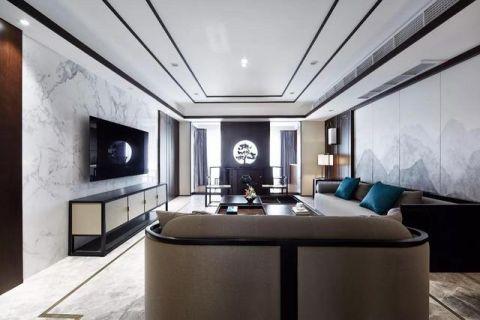 质感白色客厅装修方案