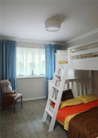 典雅现代简约白色床效果图图片