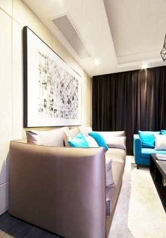 奢华白色客厅装修美图