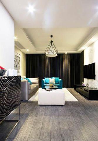 质朴客厅现代简约实景图