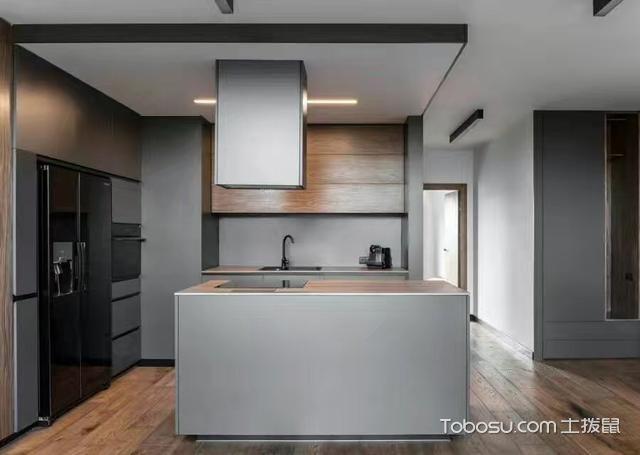 2019工业厨房装修图 2019工业厨房岛台装饰设计