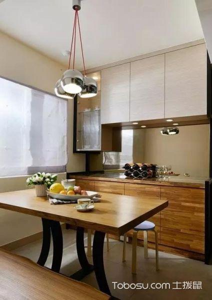 现代风格89平小三室装修实景_装修图片