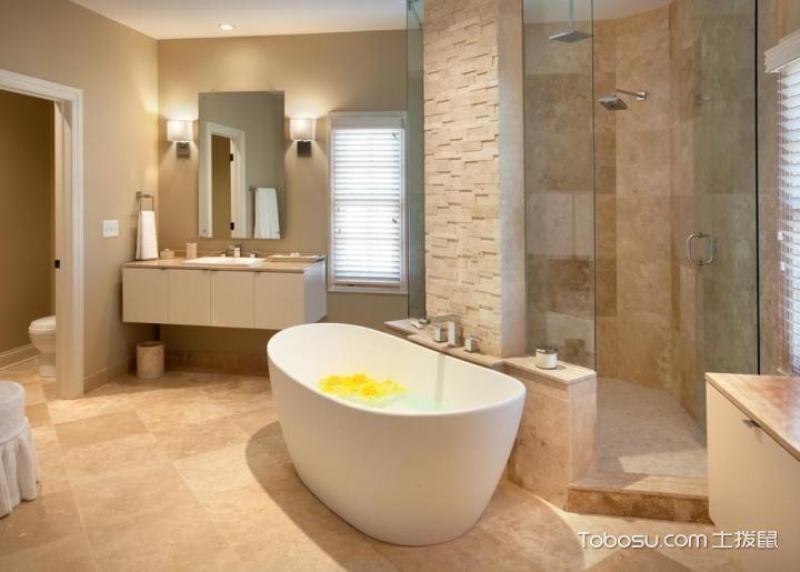 2019宜家浴室设计图片 2019宜家浴缸装修效果图大全