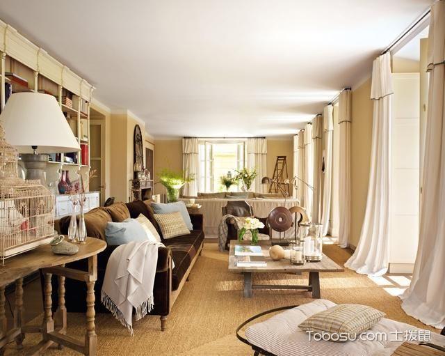 混搭风格大户型174平米室内装饰