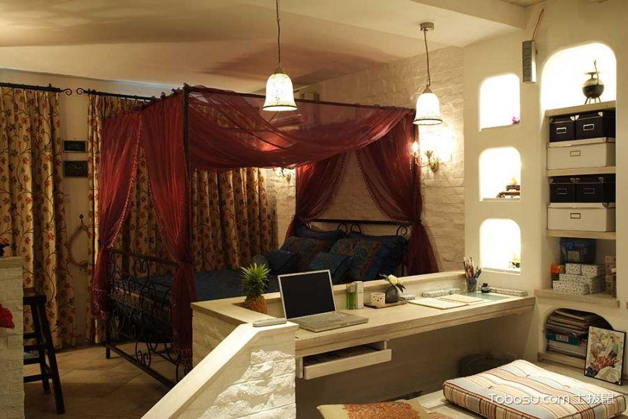60平米小户型混搭风格室内装修设计