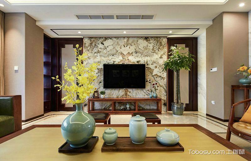 2021古典客厅装修设计 2021古典吊顶设计图片