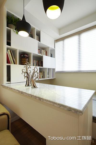 二居室108平米简约风格设计图