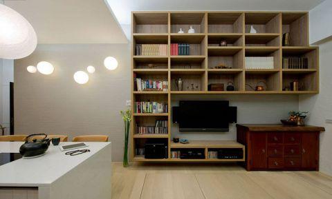 2019现代中式70平米设计图片 2019现代中式一居室装饰设计