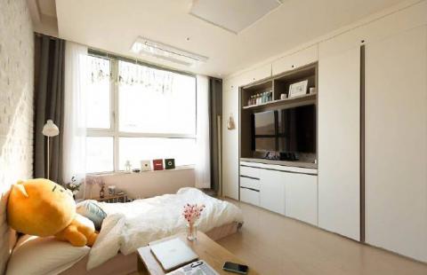 2019现代简约60平米以下装修效果图大全 2019现代简约公寓装修设计