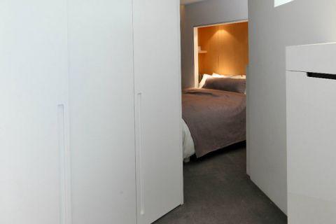 庄重现代简约灰色地板装潢图片