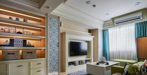质朴白色客厅装饰设计