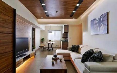 现代客厅吊顶室内装修设计