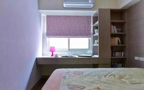 美轮美奂原木色卧室设计效果图