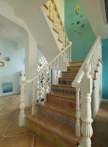 簡約玄關樓梯設計效果圖