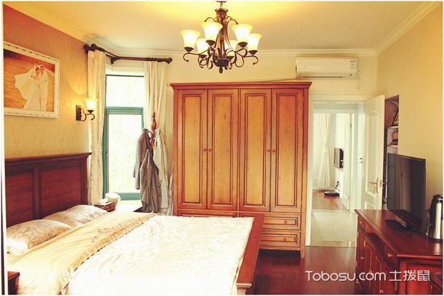 100平米二居室美式风格室内装修设计