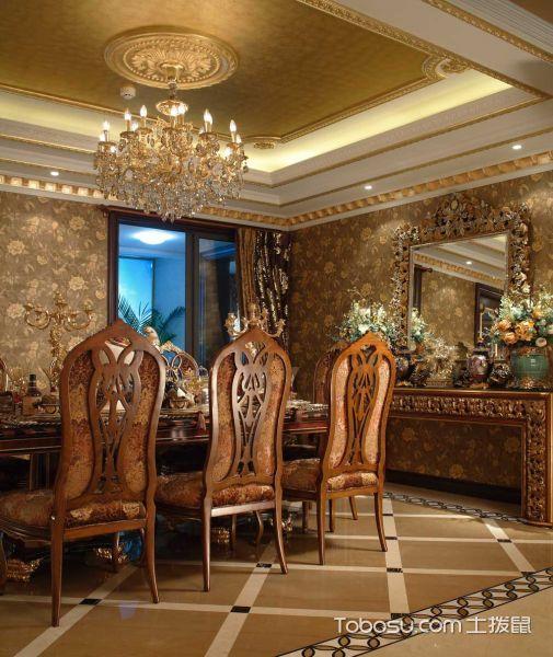 奢华古典欧式三室两厅_装修图片