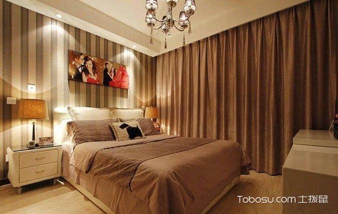 三室两厅95平咖啡色恋曲_装修图片
