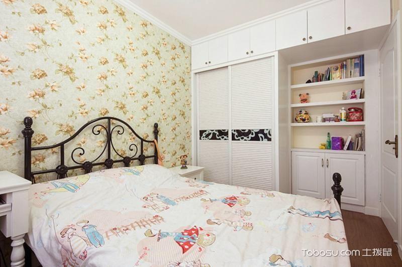119平米三居室田园风格装修