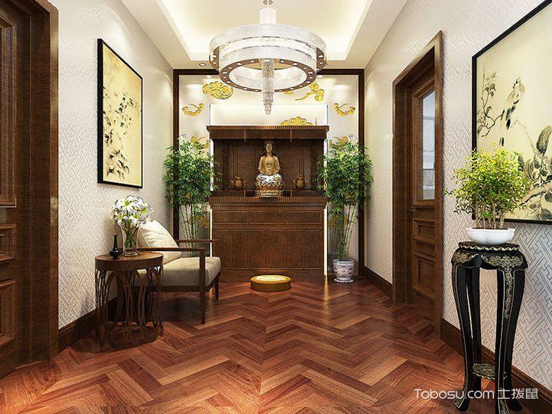 109平米三居室中式风格装修