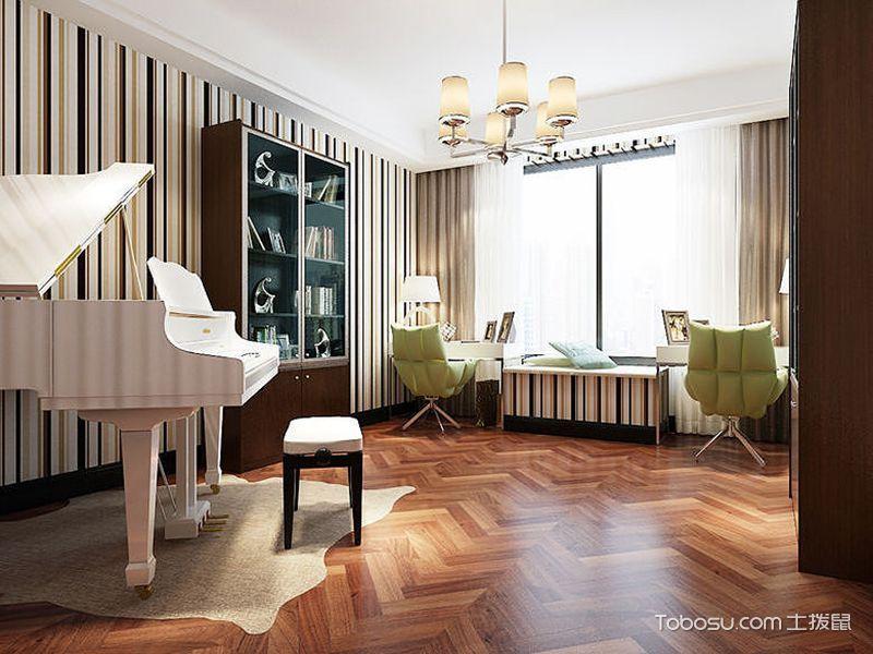 2019中式起居室装修设计 2019中式地板效果图
