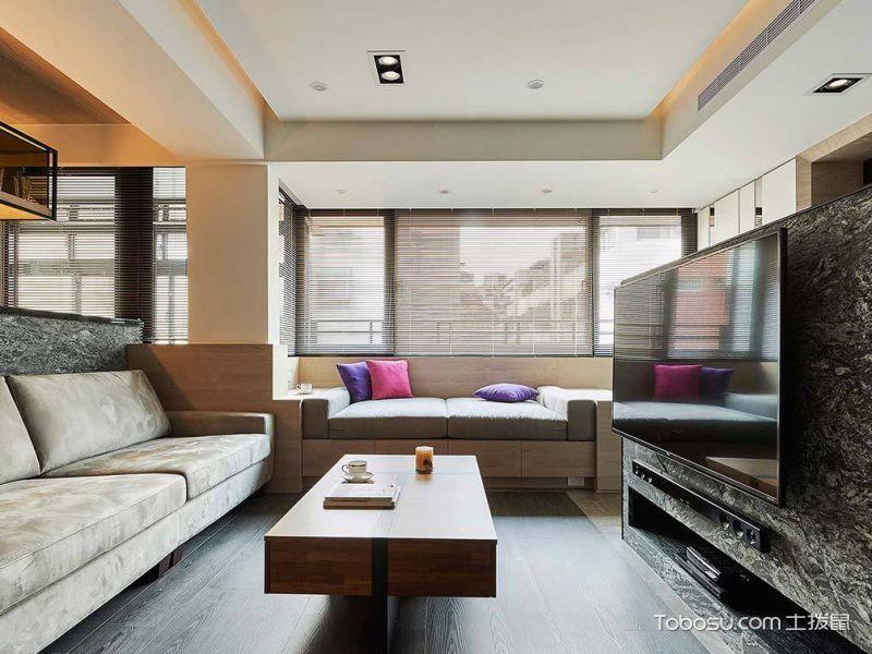 100平米三居室简欧风格装修