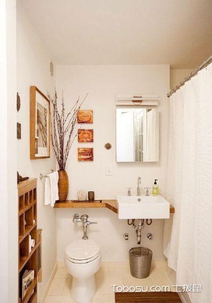 日式卫生间布置效果图_装修图片